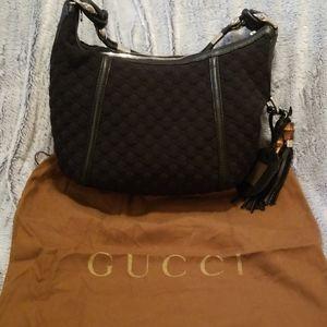 AUTH Gucci techno neoprene bag